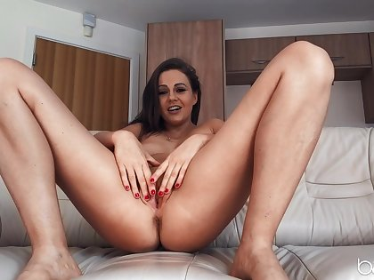 Deep bleed for fucking solo cam action by sweet Tina Kay