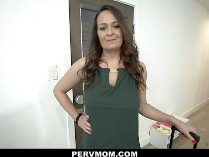 PervMom - Horny Cougar Gets Wet For Step Nephew