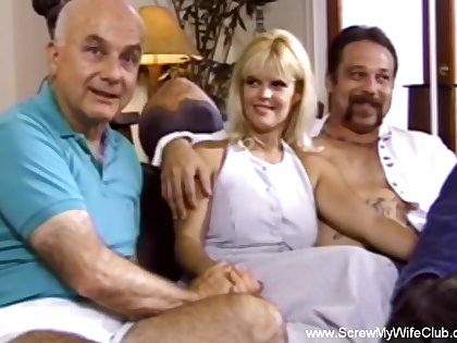 Threesome Is What Swinger Wife Wants  A Sexual congress Enjoyment