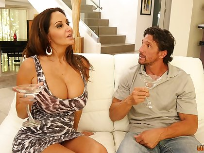 Impeccable MILF porn with someone's skin busty mature on top