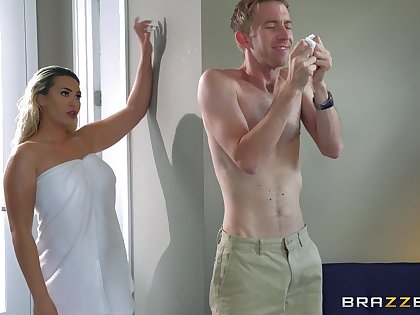 Parching nude sex with a thick woman that knows liaison
